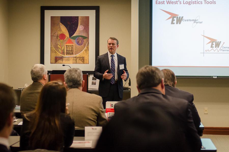 East West Manufacturing Scott Ellyson Global Logistics RoundTable