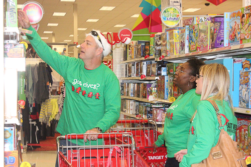 East West Manufacturing Elves Shopping for Charity