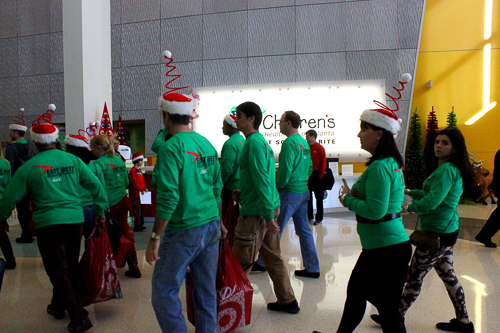 East West Manufacturing Elves Drop Off Toys for Children's Healthcare of Atlanta