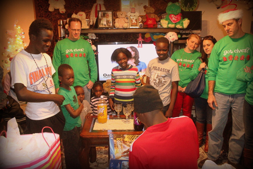 East West Manufacturing Elves Donate to Atlanta Refugee Family