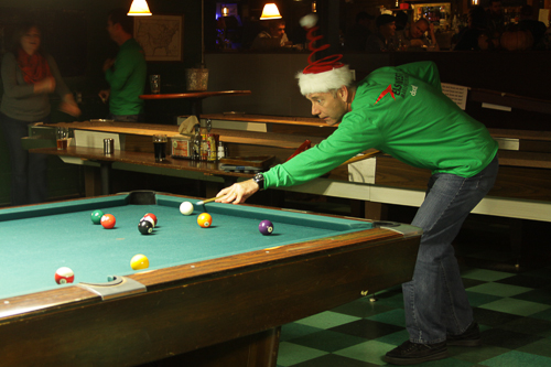 East West Manufacturing 2012 Holiday Party at Twain's Billiards in Decatur