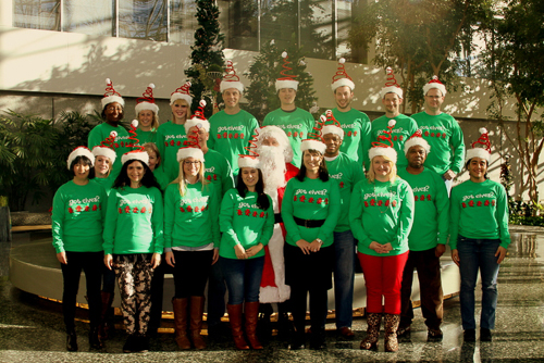East West Manufacturing Holiday Elves 2012