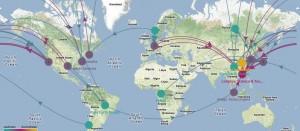 Global Manufacturing Map