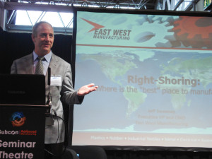 Jeff Sweeney of East West Manufacturing