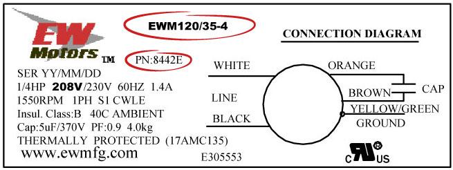 MTW-8442E-Label