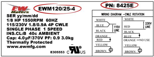 MTW-8425E-Label
