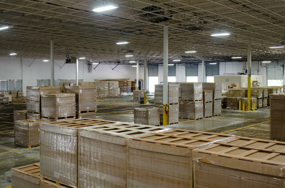 EW warehouse with inventory