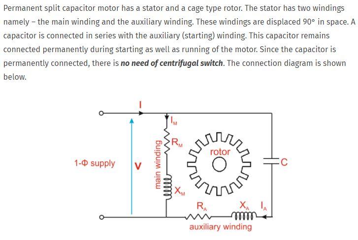 comparing shaded pole, psc and ec motors 4-Way Reversing Valve Diagram