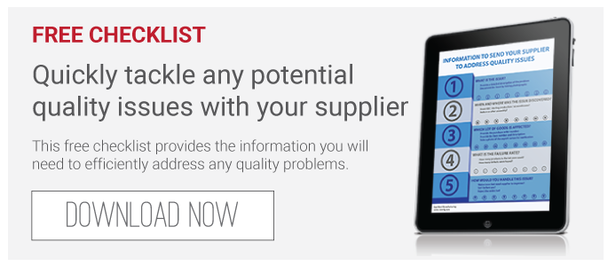 Addressing Product Quality Issues with Your Supplier [Free